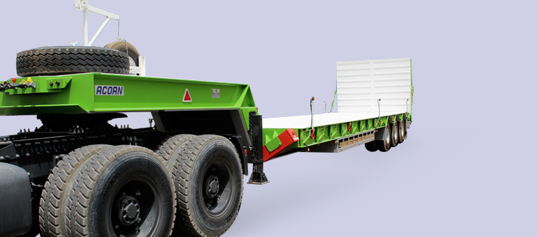 Low Bed/Step Frame Trailers