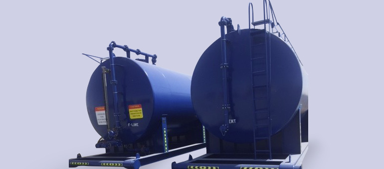 Storage Tanks - Skid Mounted (ACID, Slurry, Water
