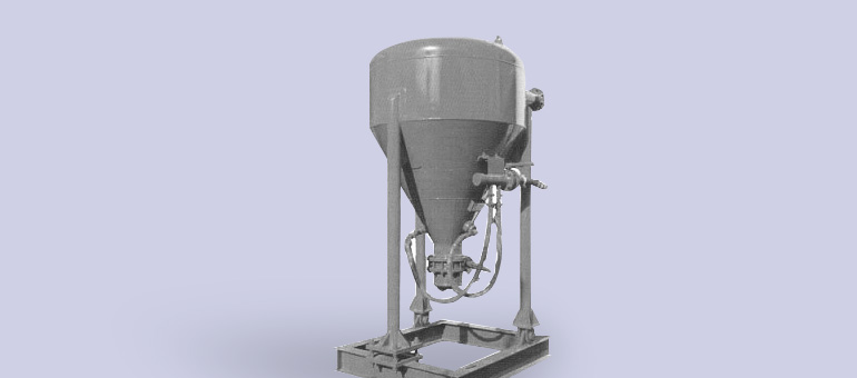 Weigh Batch Blender